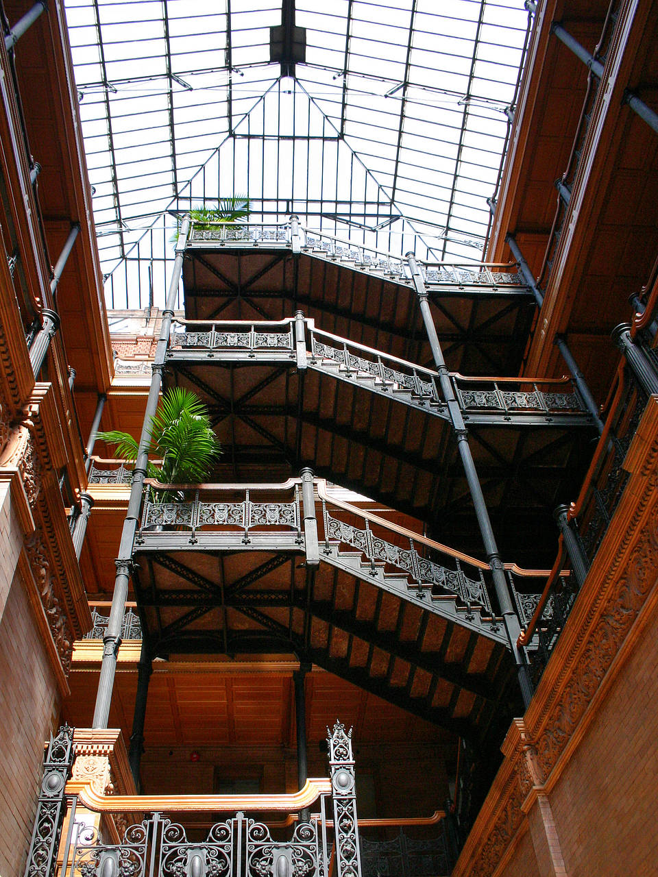 Foto Bradbury Building - Los Angeles