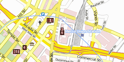 Union Station Stadtplan